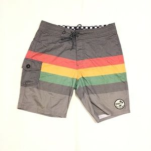 """VANS """"Off the Wall"""" boardshorts"""